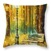Light And Passion Throw Pillow