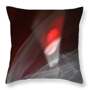 ''light And Red Disc No.21'', Sun--27sep2015 Throw Pillow
