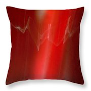 ''light And Red Disc No.22'', Sun--27sep2015 Throw Pillow