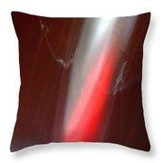 ''light And Red Disc No.24'', Sun--27sep2015 Throw Pillow