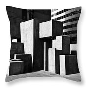 Light And Shadow 4 Throw Pillow