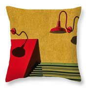 Light And Shadow II Throw Pillow
