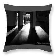Light And Shadows Throw Pillow