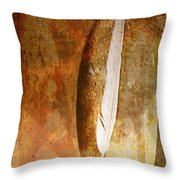 Light As A Fleather Throw Pillow