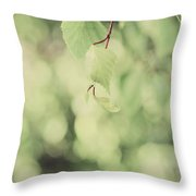 Light As The Air Throw Pillow