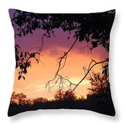 Light At The End Of The Storm  Throw Pillow