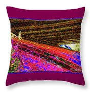 Light At The End Of The Tunnel -tribute To Aretha Franklin Throw Pillow