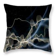 Light Bounce 2 Throw Pillow