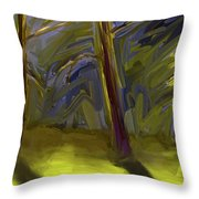 Light Breaking Through Throw Pillow