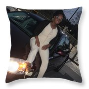 Light Brown 12 Throw Pillow