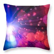 Light Burst-2 Throw Pillow