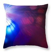 Light Burst-3 Throw Pillow