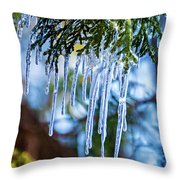 Light Chimes 4 Throw Pillow