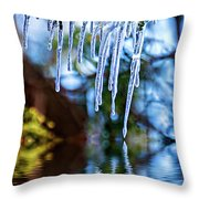 Light Chimes 5 Throw Pillow