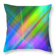 Light Color Hatch Throw Pillow