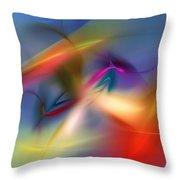 Light Dance 010310 Throw Pillow