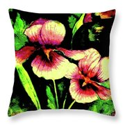 Light Dispels Darkness Throw Pillow