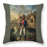 Light Dragoons Throw Pillow