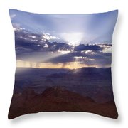 Light Explosion Throw Pillow