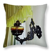 Light From The Past Throw Pillow