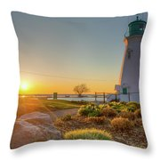 Light House  Throw Pillow