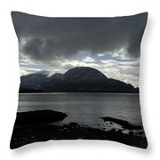 Light In Darkness Throw Pillow