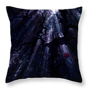Light In The Darkness Throw Pillow