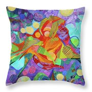 Light In The Heights Throw Pillow