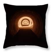 Light In The Tunnel 5 Throw Pillow
