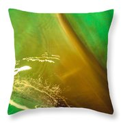 Light, Leaves N Water... Throw Pillow