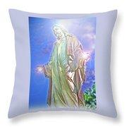 Light Of Life Throw Pillow