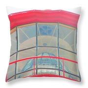 Light Of The Lighthouse Throw Pillow
