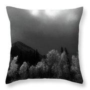 Light Of The Storm Throw Pillow