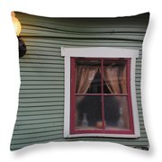 Light Of The Window Throw Pillow