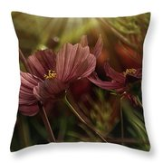 Light On The Cosmos Throw Pillow