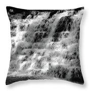 Light On The Jones Mill Run Dam Throw Pillow