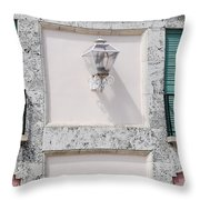 Light On The Wall Throw Pillow