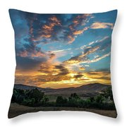 Light Over Hollenbeck Throw Pillow