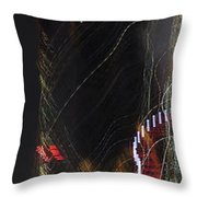 Light Paintings - No 3 - Creative Fuel Throw Pillow