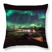 Light Pollution Throw Pillow