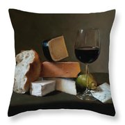 Light Repast Throw Pillow