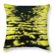 Light Ripples On Water Throw Pillow