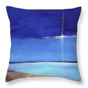 Light Sail Throw Pillow
