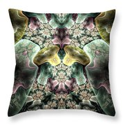 Light Scatterings Throw Pillow