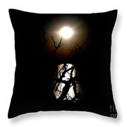 Light Shines Through Throw Pillow