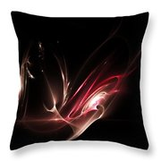 Light Show Throw Pillow