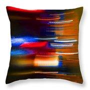 Light Speed Throw Pillow