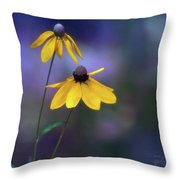 Light Springing From Darkness Throw Pillow