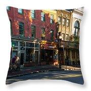 Light Street Throw Pillow