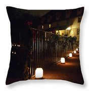 Light The Way Home For The Holidays Throw Pillow